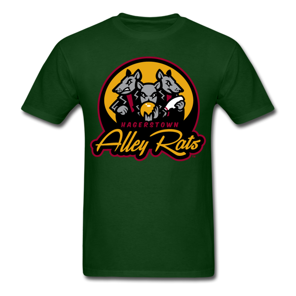 Hagerstown Alley Rats Unisex Classic T-Shirt - forest green