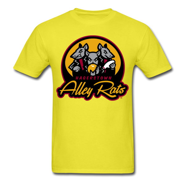 Hagerstown Alley Rats Unisex Classic T-Shirt - yellow