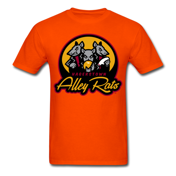 Hagerstown Alley Rats Unisex Classic T-Shirt - orange