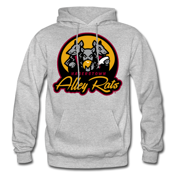 Hagerstown Alley Rats Heavy Blend Adult Hoodie - heather gray