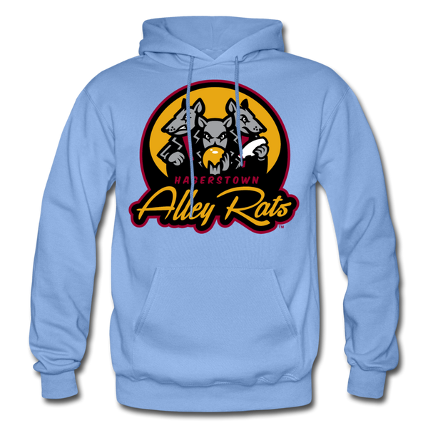 Hagerstown Alley Rats Heavy Blend Adult Hoodie - carolina blue