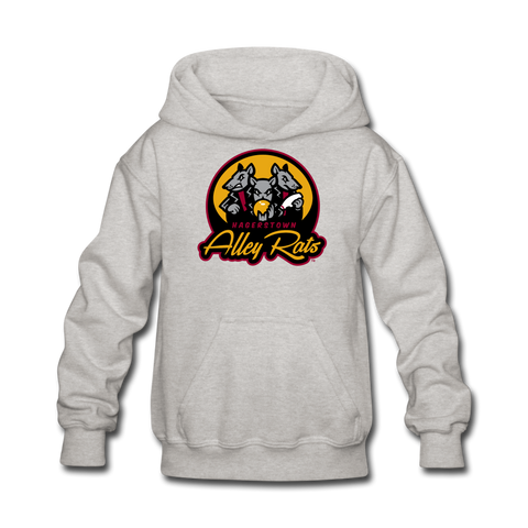 Hagerstown Alley Rats Kids' Hoodie - heather gray