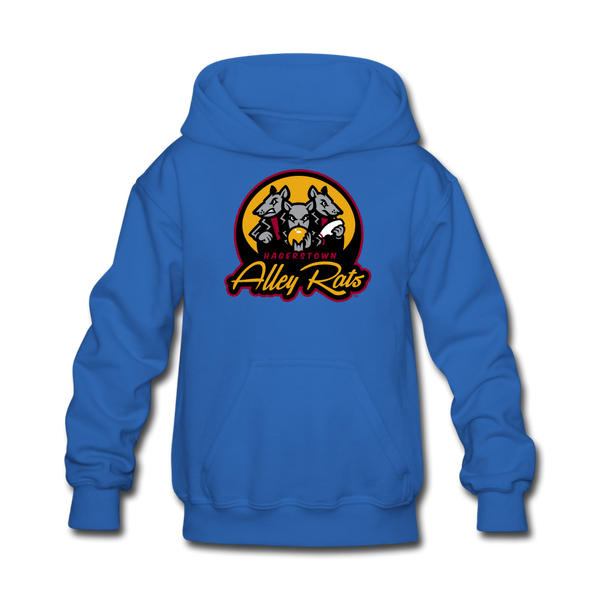 Hagerstown Alley Rats Kids' Hoodie - royal blue