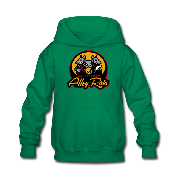 Hagerstown Alley Rats Kids' Hoodie - kelly green