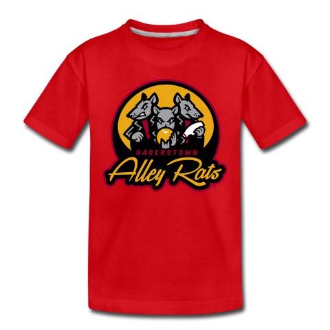 Hagerstown Alley Rats Kids' Premium T-Shirt - red