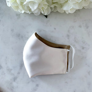 The Everyday Edit- Cream Satin/Silk Mask