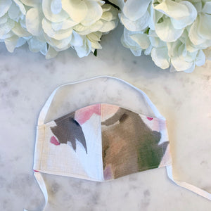 The Fun Edit - Kiddies pastel floral mask