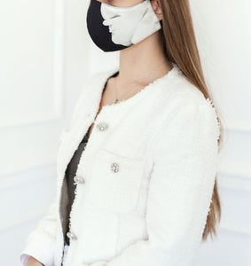 The Weekend Edit - Swan Floral Mask