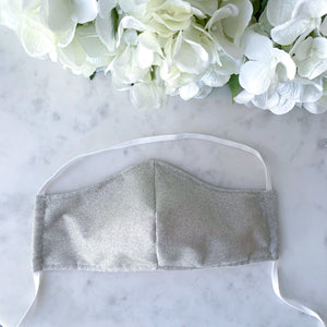 The Everyday Edit - Silver Sparkle Mask