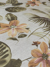 Load image into Gallery viewer, Sand Floral tablecloth