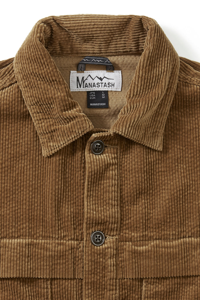 Manastash Cruiser Jacket (Khaki) - Manastash Europe