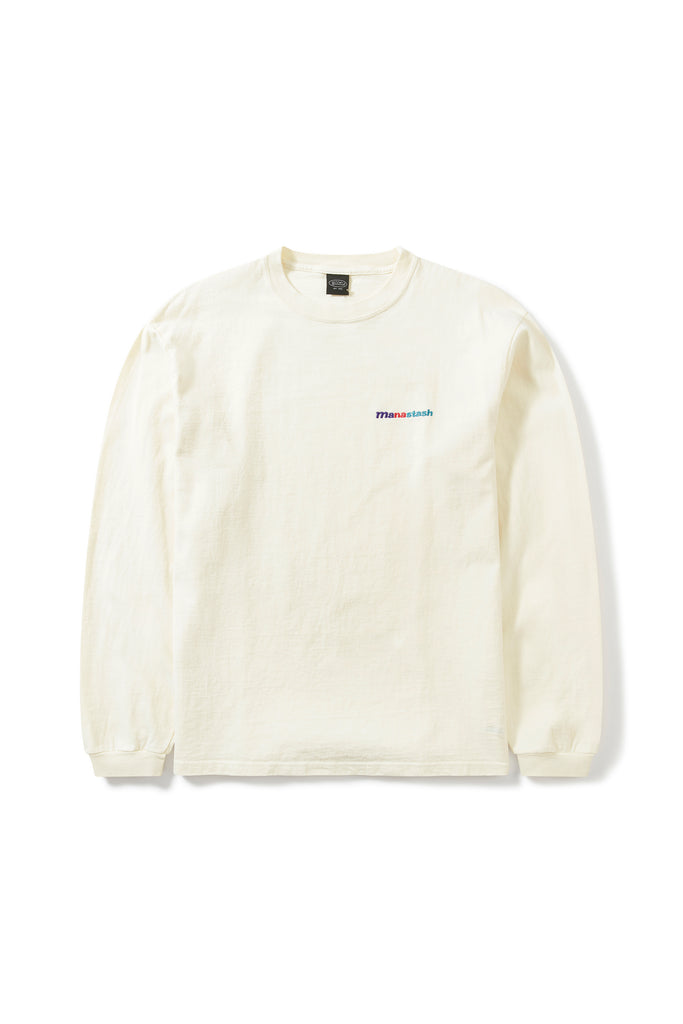 Manastash Emb Logo LS Tee III (Natural) - Manastash Europe
