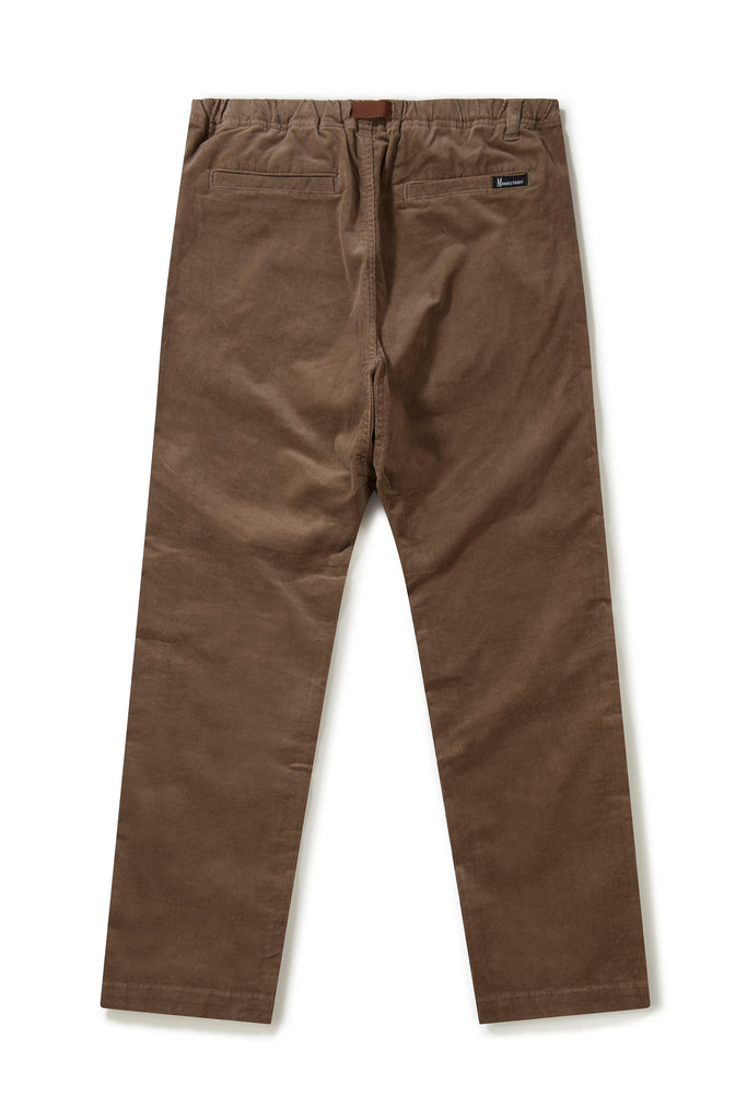 Manastash Stretch Corduroy Pants (Dark Brown)