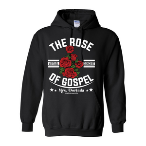 The Rose of Gospel Black Hooded Sweatshirt
