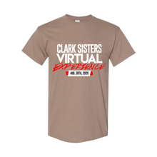 Load image into Gallery viewer, The Clark Sisters Virtual Experience T-Shirt