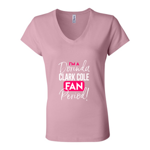 I'm A DCC Fan Period! V-Neck Tee