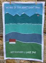 Load image into Gallery viewer, Send a Little Love Tea Towel