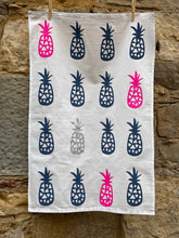 Load image into Gallery viewer, Pineapple Tea Towel