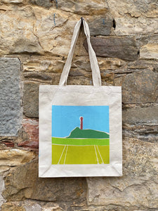 Long Handled Canvas Tote