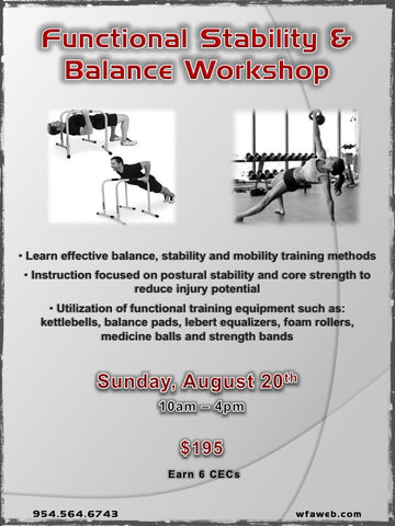 Functional Stability & Balance Workshop