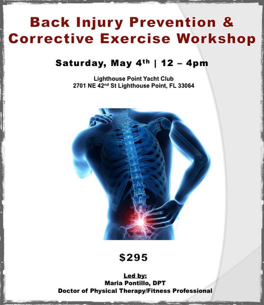 Back Injury Prevention & Corrective Exercise - CEC Workshop