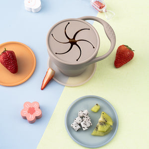 Taupe Snack Cup