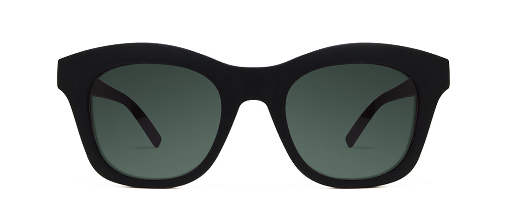 REVIVE BLACK WITH GREEN LENSES