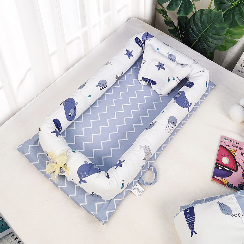 Multifunctional and portable bed for newborn baby