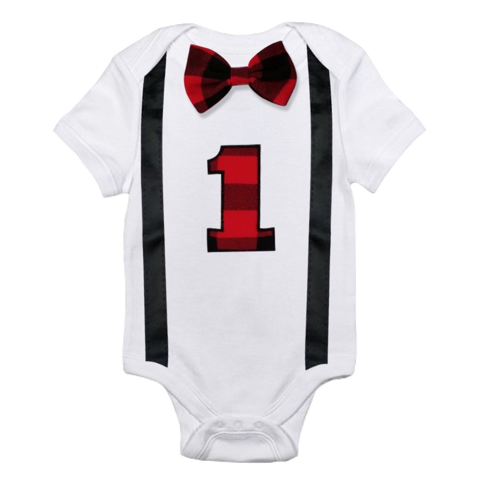 Toddler Kids Baby Boys fancy onsie