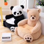 Load image into Gallery viewer, Bear Panda Infant Back Support/Learning Sit
