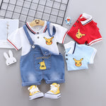 Load image into Gallery viewer, Pikachu Baby Boys Pokemon Short Sleeve