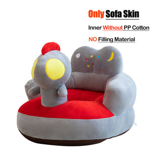 Infant Learning to Sit Plush Chair/Feeding Seat