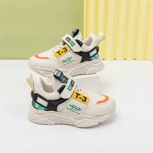 Artificial leather comfortable fashion baby sneakers