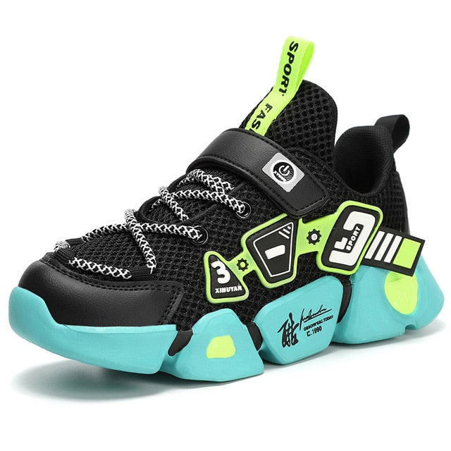 High Quality Breathable Sneakers For Boys, Lightweight