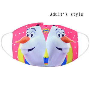 Disney Toy Story Buzz Light-year Woody Jessie  Face Masks Reusable Breathable Protective