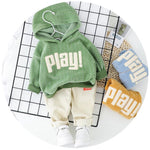 Load image into Gallery viewer, Spring Baby Cotton Hoodie and Pants 2Pcs Causal