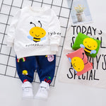 Load image into Gallery viewer, Spring Boys Bee T-shirt and Pants Outfits
