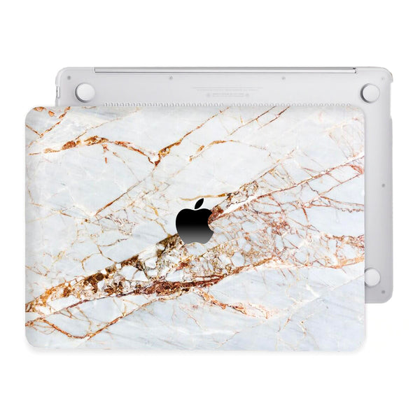 Coque Macbook Blanc Or par Tibisig