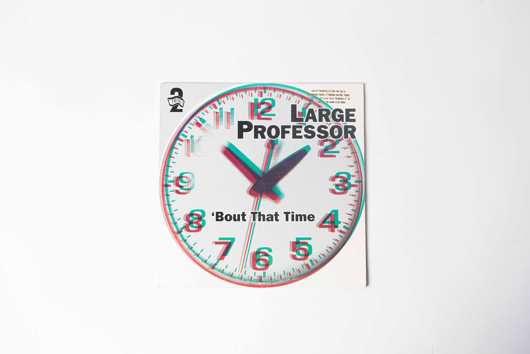 Large Professor - Bout' that Time (Single)