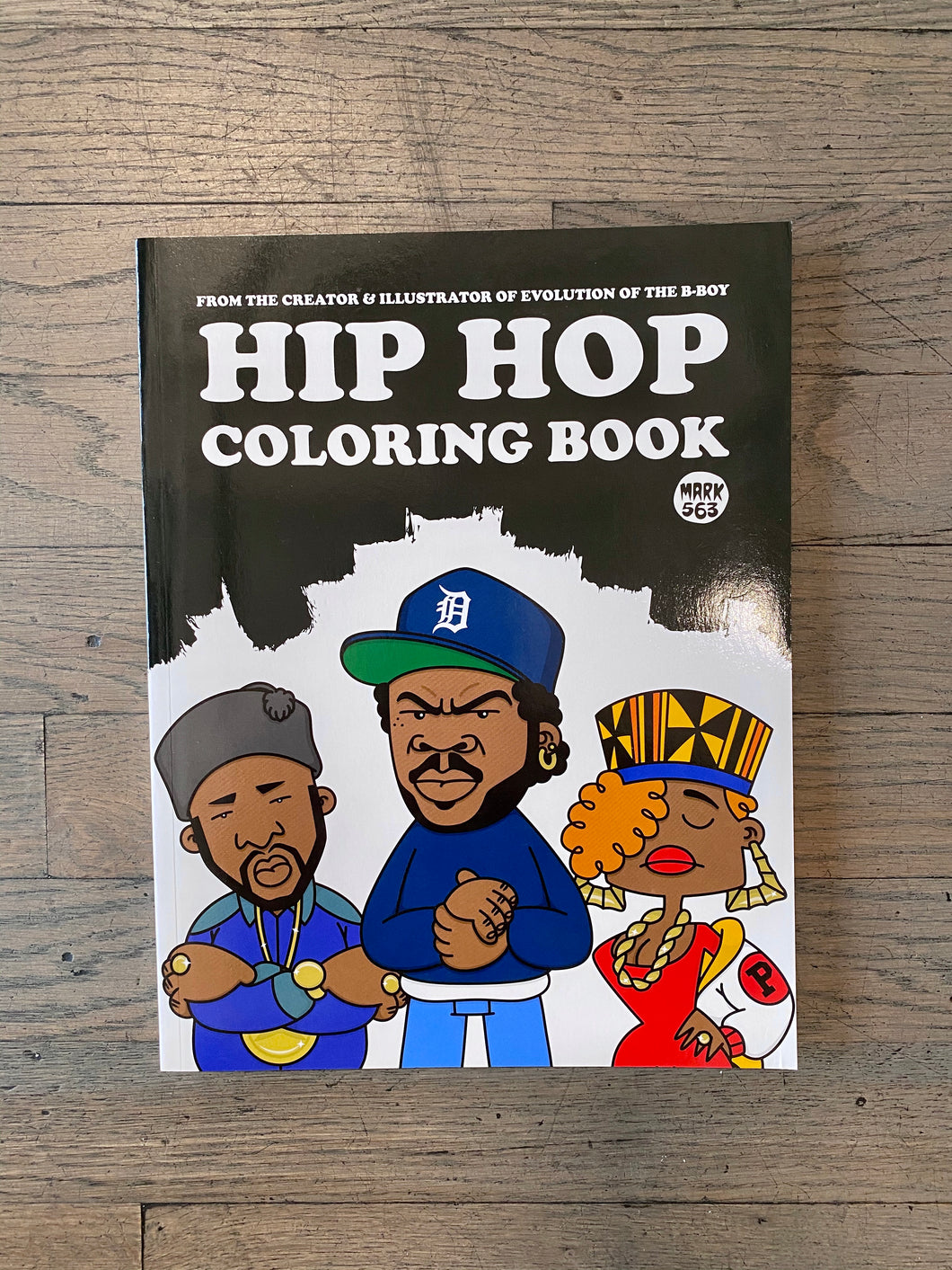 Hip-Hop Coloring Book