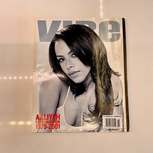 Vibe Magazine - Aaliyah Tribute Edition (Nov 2001)