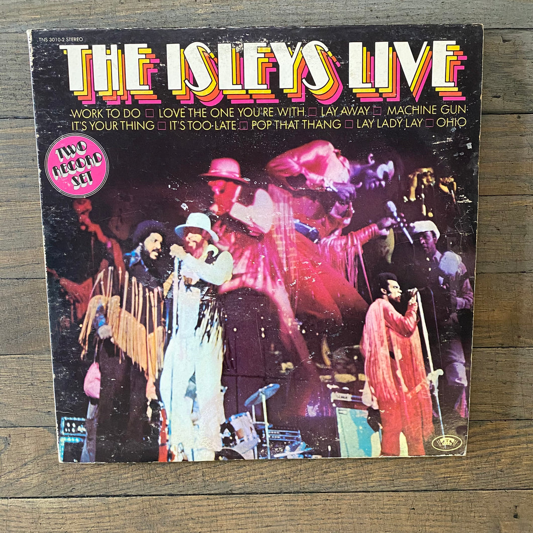 The Isley Brothers - The Isley's Live