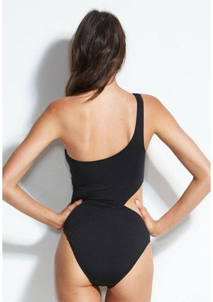 SEAFOLLY - One Shoulder Maillot - Cooshie