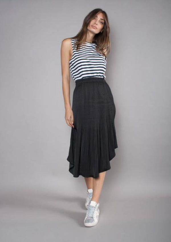 The Others - Pleated Elastic Skirt - Cooshie
