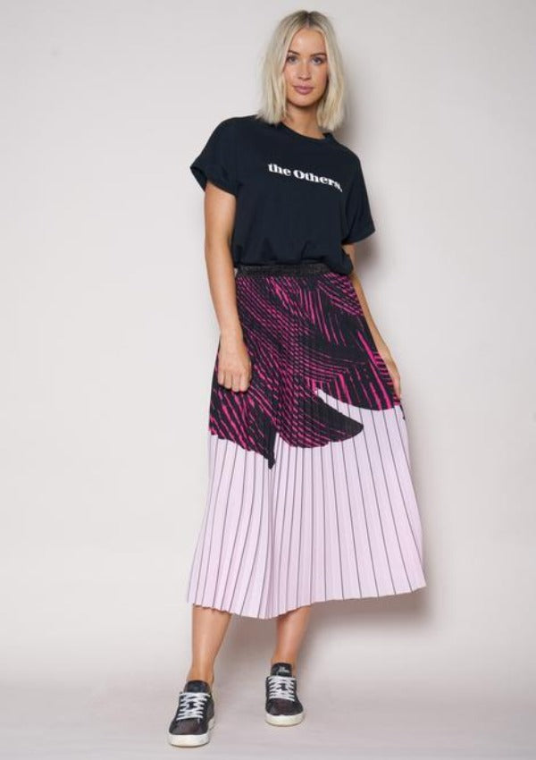 The Others - Hot Pink Sunray Skirt - Cooshie