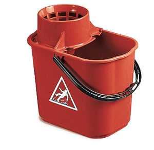 Optima Mop Bucket with Rose - 12 ltr