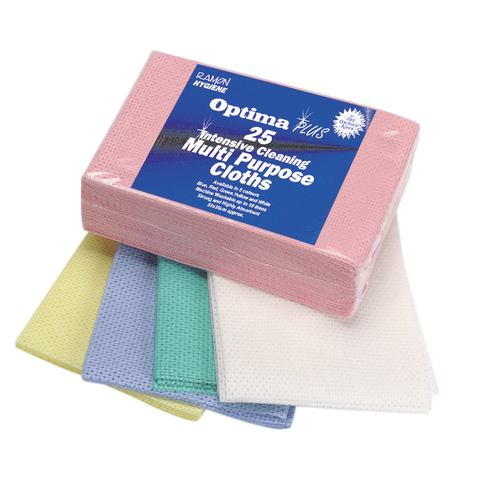 Optima Plus - Multi-purpose hygiene anti-bacterial cloths