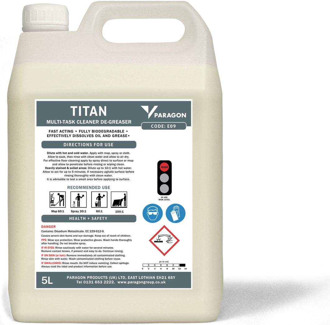 Titan - Heavy duty cleaner and degreaser