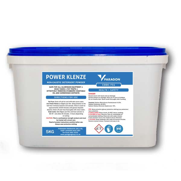 Power Klenze Blue - Non-caustic detergent powder