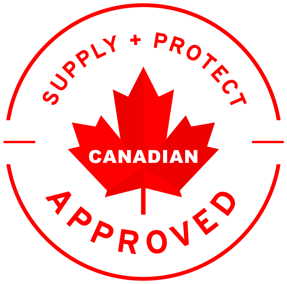 Supply+Protect Canadian Approved Badge